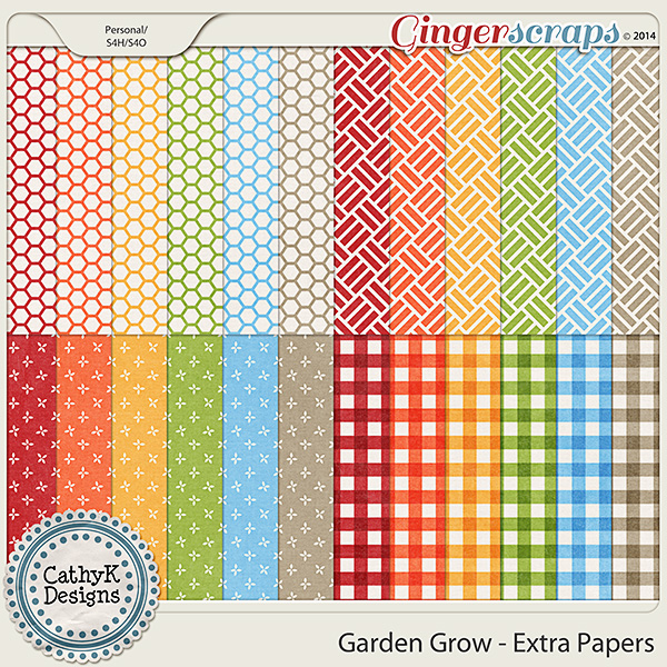 Garden Grow - Extra Papers