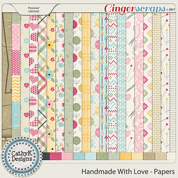 Handmade with Love - Papers