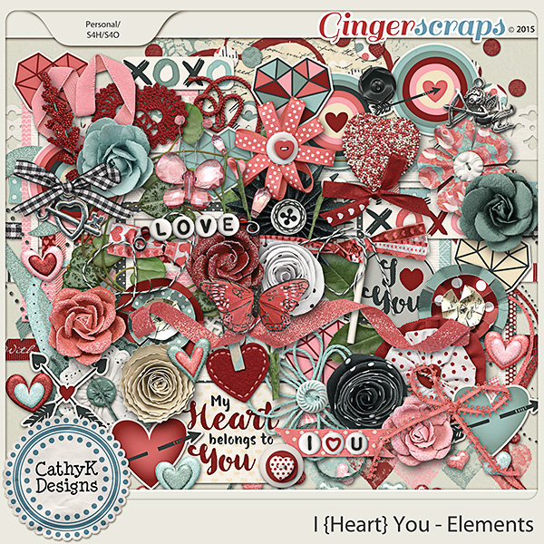 I {Heart} You - Elements