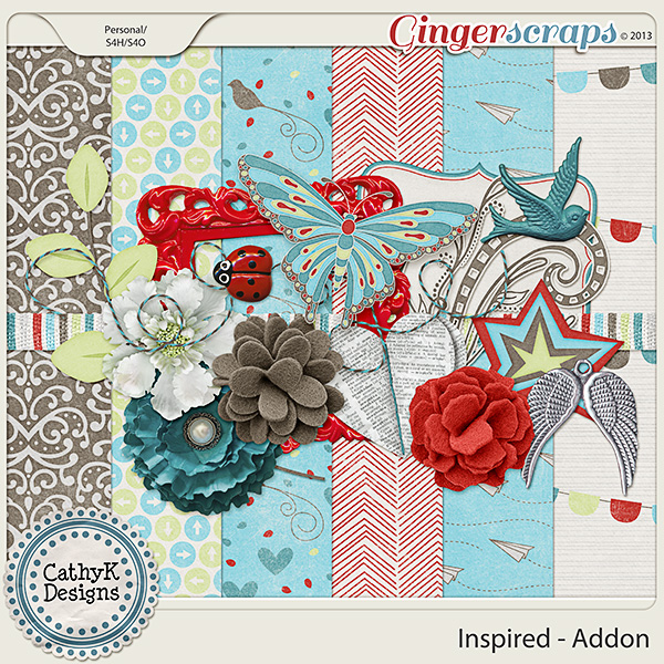 Inspired Addon: by CathyK Designs