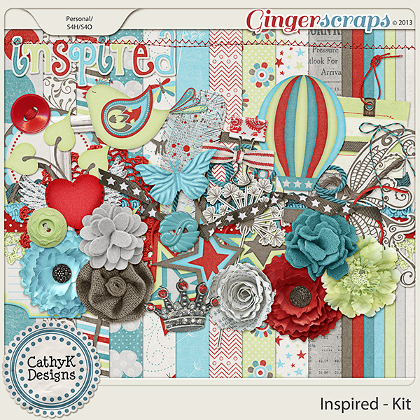 Inspired Kit: by CathyK Designs