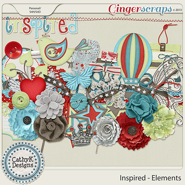 Inspired Elements: by CathyK Designs