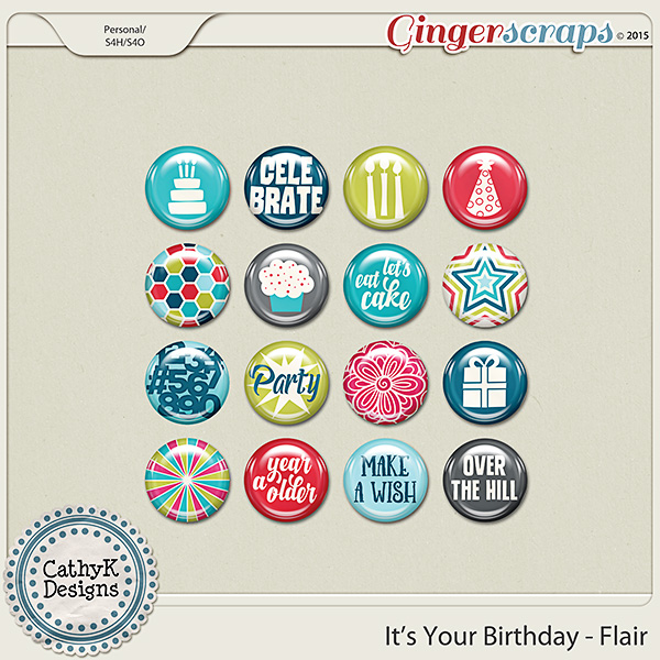 It's Your Birthday - Flair