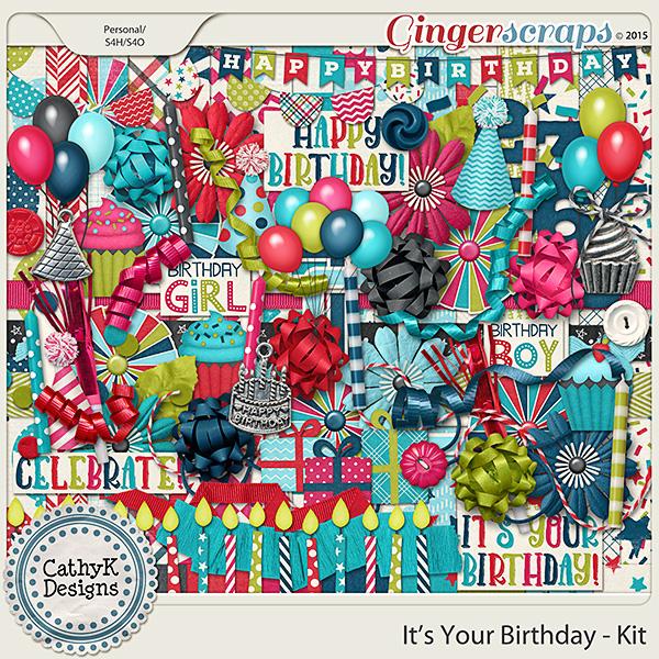 It's Your Birthday - Kit