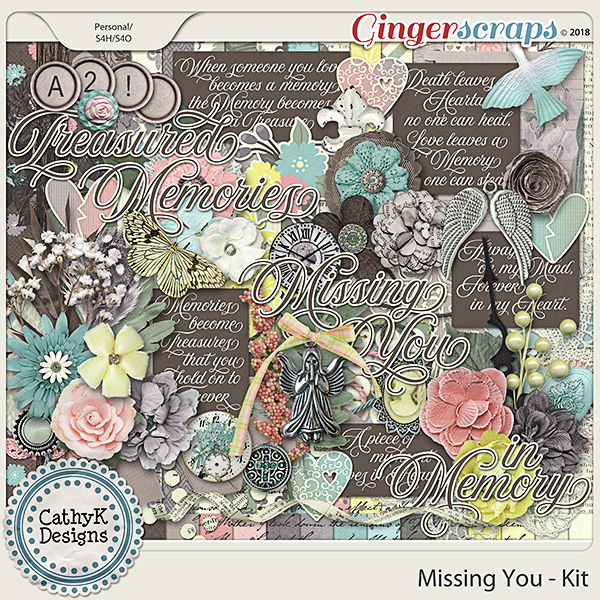 Missing You - Kit by CathyK Designs