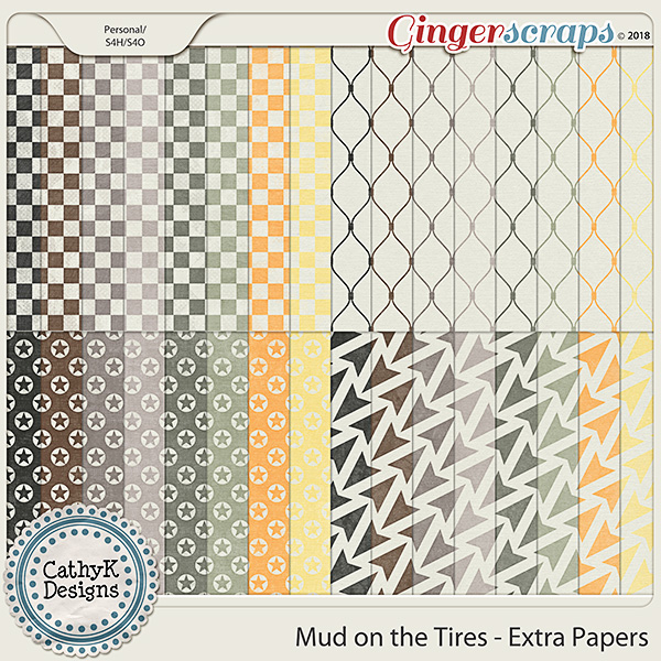 Mud On The Tires - Extra Papers