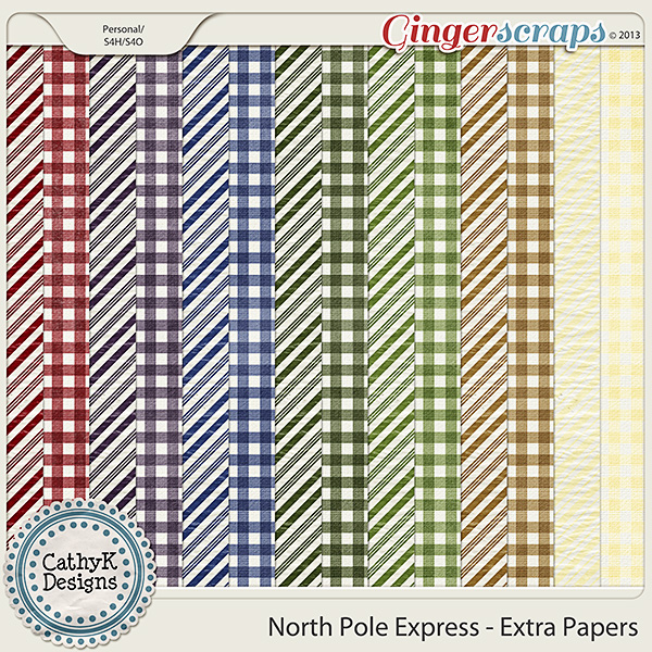 North Pole Express - Extra Papers