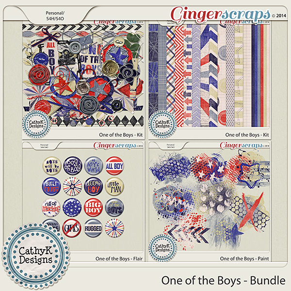 One of the Boys - Bundle