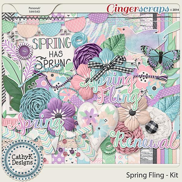 Spring Fling Kit: by CathyK Designs