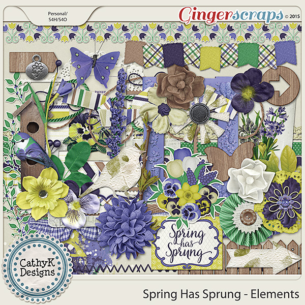 Spring Has Sprung - Elements