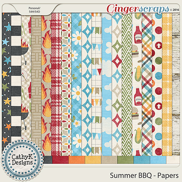 Summer BBQ - Papers