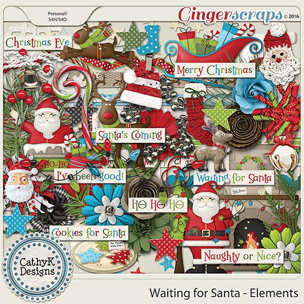 Waiting for Santa - Elements