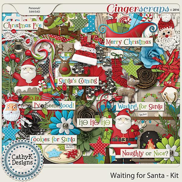 Waiting for Santa - Kit