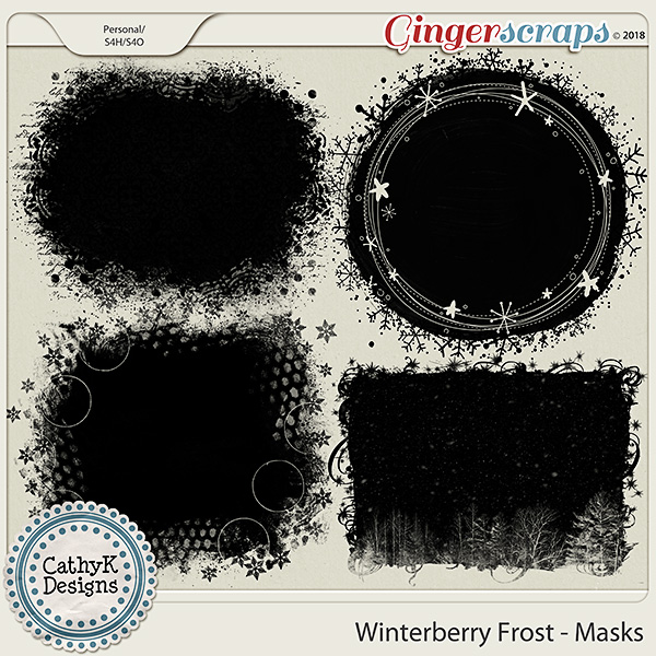 Winterberry Frost - Masks