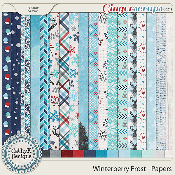 Winterberry Frost - Papers