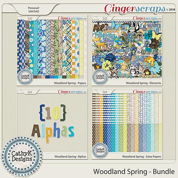 Woodland Spring - Bundle