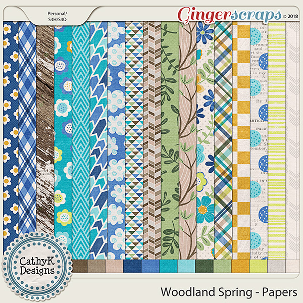 Woodland Spring - Papers