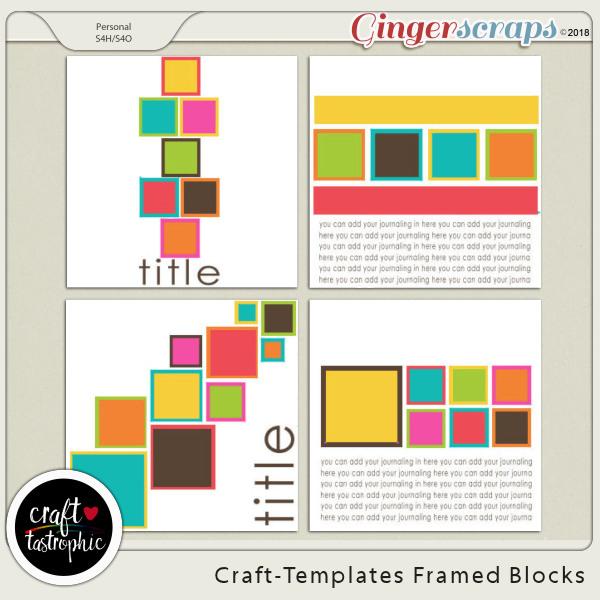 Craft-Templates Framed Blocks