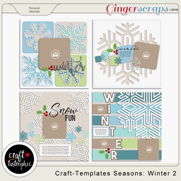 Craft-Templates Seasons Winter2