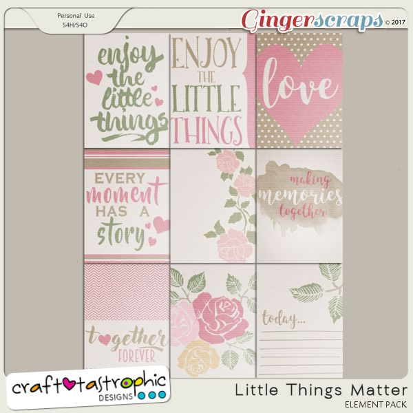 Little Things Matter Pocket Cards