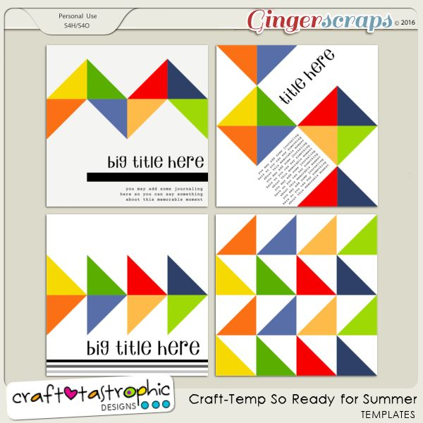Craft-Templates So Ready for Summer