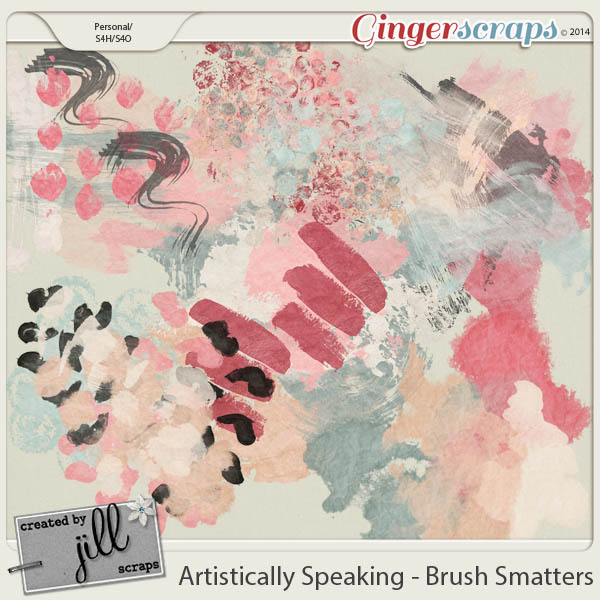 Artistically Speaking - Brush Smatters by Created by Jill