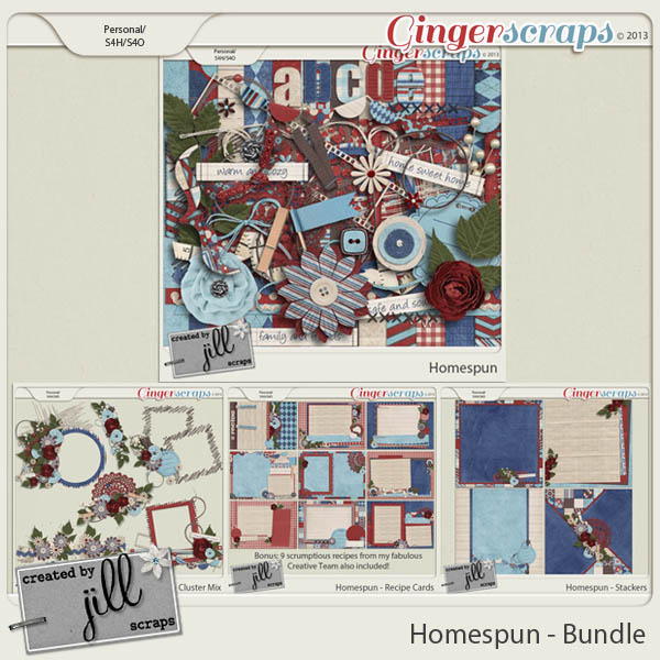 Homespun - Bundle