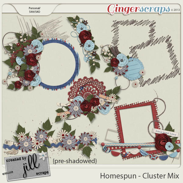 Homespun - Cluster Mix