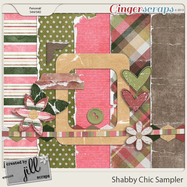 Shabby Chic Sampler