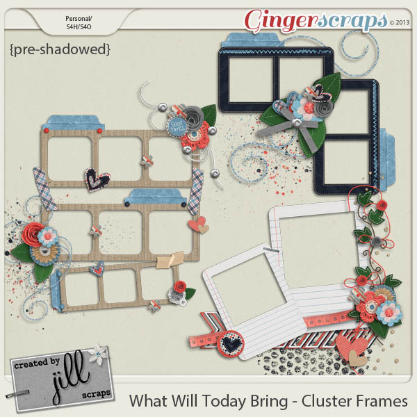 What Will Today Bring - Clusters Frames