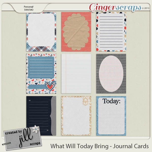 What Will Today Bring - Journal Cards