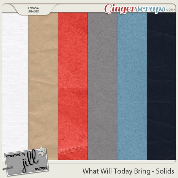 What Will Today Bring - Solids
