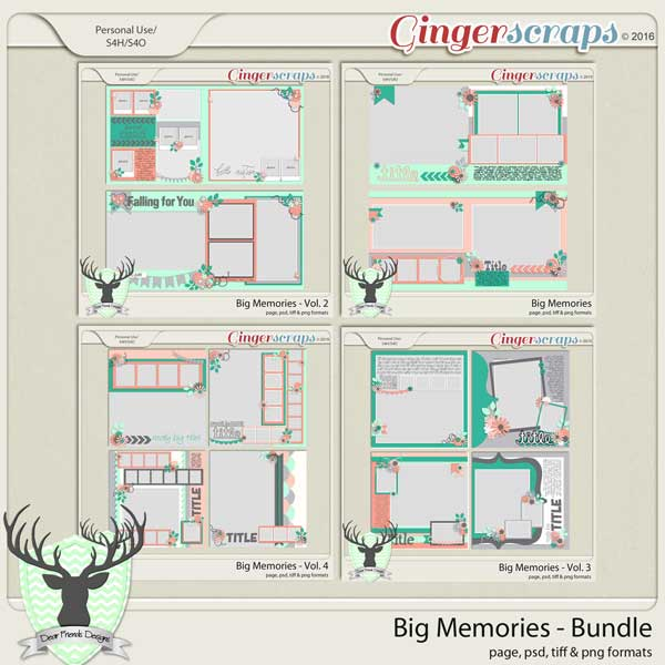 Big Memories Bundle