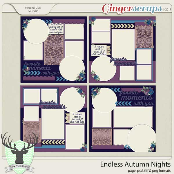Endless Autumn Nights by Dear Friends Designs