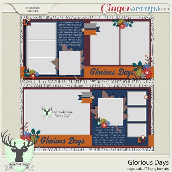 Glorious Days by Dear Friends Designs