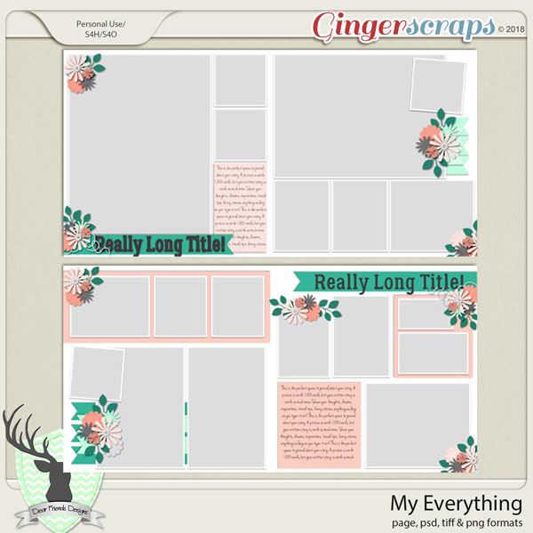 My Everything by Dear Friends Designs