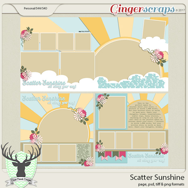 Scatter Sunshine by Dear Friends Designs