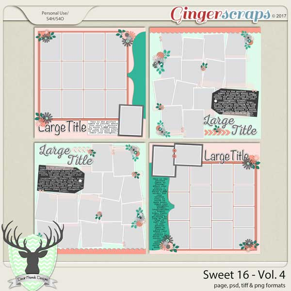 Sweet 16 Vol 4 by Dear Friends Designs