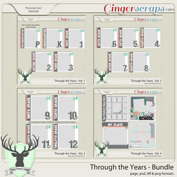 Through the Years Bundle by Dear Friends Designs