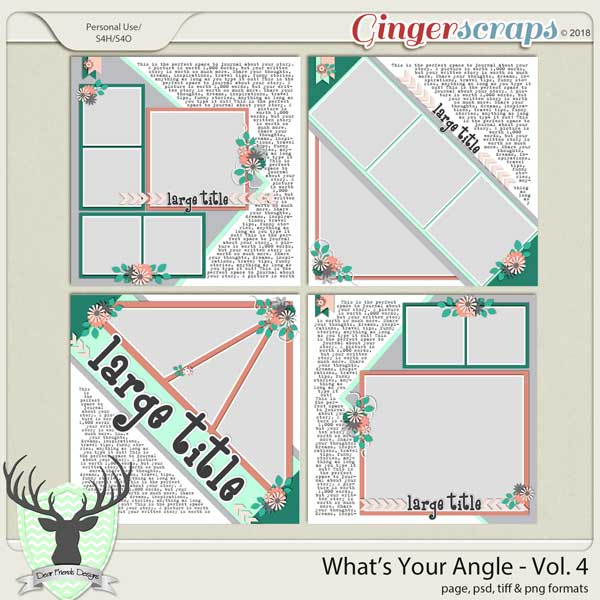 What's Your Angle? Vol 4