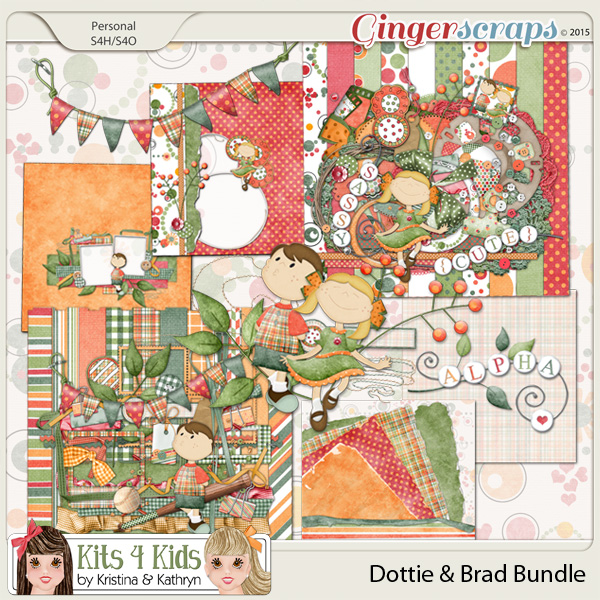 Dottie & Brad Bundle by K4K