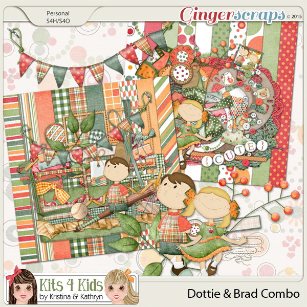 Dottie & Brad Combo Pack by K4K