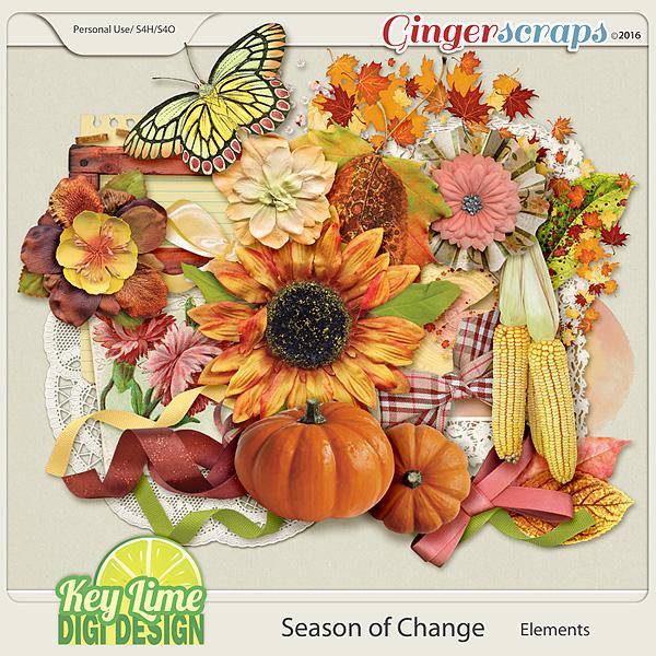 Season of Change - Elements