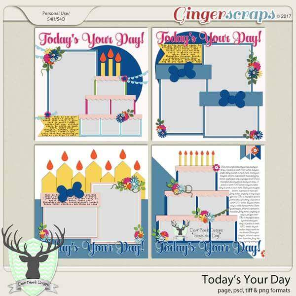 Today's Your Day by Dear Friends Designs
