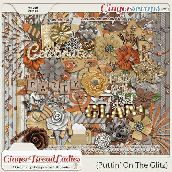 GingerBread Ladies Collab: Puttin' On The Glitz