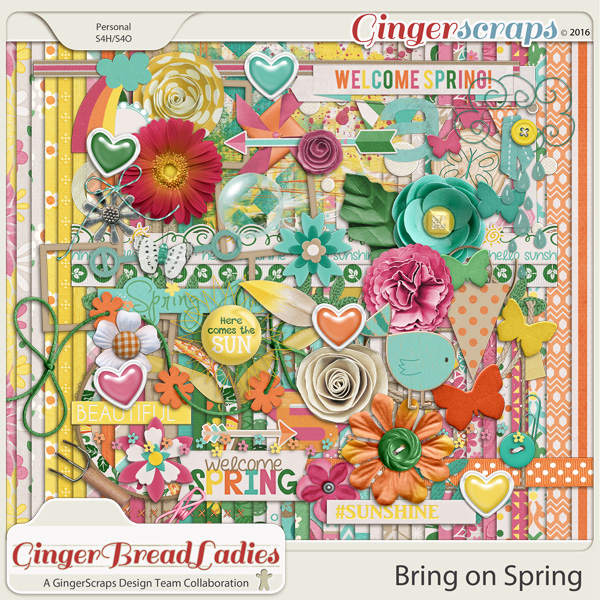 GingerBread Ladies Collab: Bring On Spring