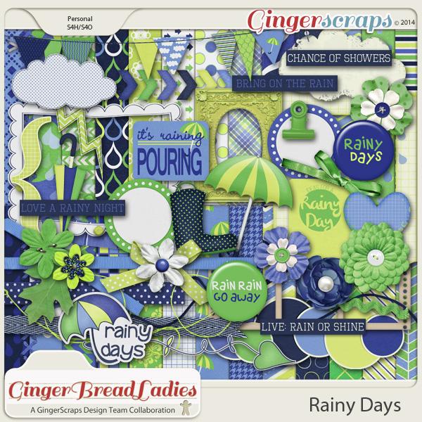 GingerBread Ladies Collab: Rainy Days