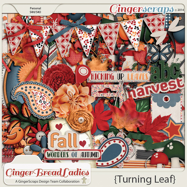 GingerBread Ladies Collab: Turning Leaf