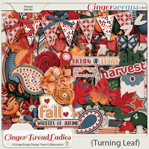 GingerBread Ladies Collab: Turning Leaf