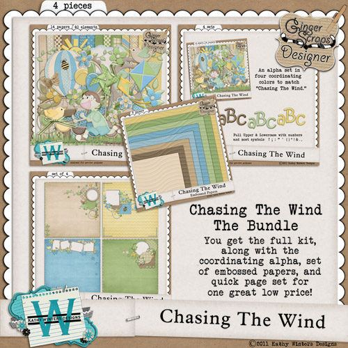 Chasing The Wind Bundle by Kathy Winters Designs